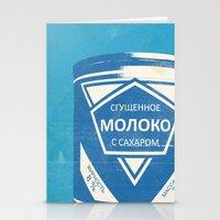Condensed Milk (Sgushche… Stationery Cards