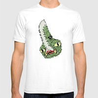 16 bit guiron Mens Fitted Tee White SMALL