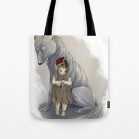 neither human nor wolf Tote Bag