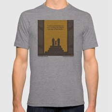 No133 My KING KONG minimal movie poster Mens Fitted Tee Athletic Grey SMALL
