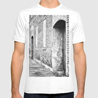 Oxford Abandoned Mens Fitted Tee White SMALL