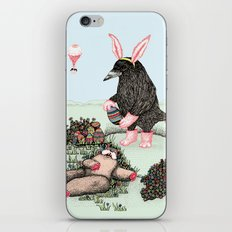 Crow Serie :: Easter Crow iPhone & iPod Skin