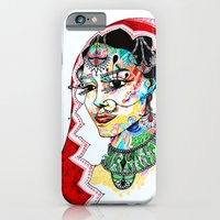 indian iPhone & iPod Cases featuring Indian by Cemile Demir Uzunoglu
