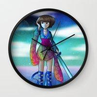 Uranus Princess Wall Clock