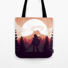 The Legend of Zelda - Orange Version Tote Bag