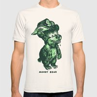 The Money Bear Mens Fitted Tee Natural SMALL