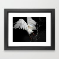 Flying Framed Art Print