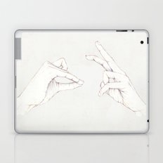 The Hair and the Tortoise Laptop & iPad Skin