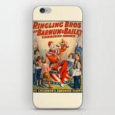 Clown Barnum iPhone & iPod Skin