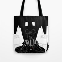 Episode V — Vador Mouse Chambers Tote Bag
