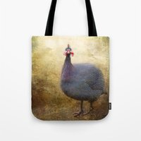 I love Guinea Fowl! Tote Bag