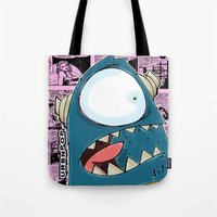 The Horror of it all BYRON  Tote Bag