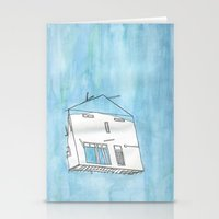 Tsunami House Stationery Cards