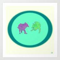 Art Print featuring FreeSpirits by ShaylahLeigh