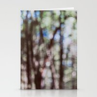 Mystify - Abstract Forest Landscape Stationery Cards