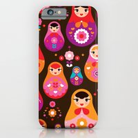 Russian Dolls Illustrati… iPhone 6 Slim Case