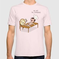 The Pepperoni Mens Fitted Tee Light Pink SMALL