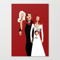 Death Becomes Her Canvas Print