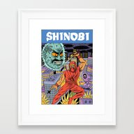 Shinobi Framed Art Print