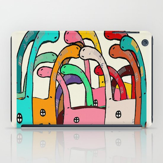 Dino Disco iPad Case
