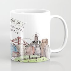 We Belong In San Francis… Mug