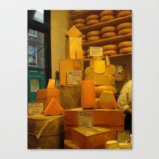 Cheese! Canvas Print