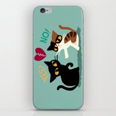 Yes Or No iPhone & iPod Skin