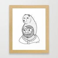 On How Baby Bears Are Of… Framed Art Print