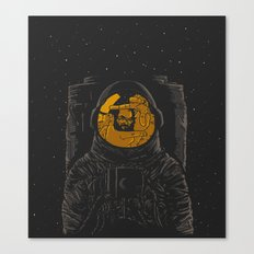 Dark side of the moon Canvas Print