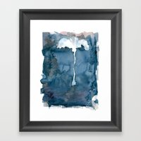 Lonely Palm Framed Art Print
