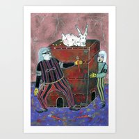 Magic Box Art Print