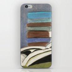 Books - Pastel Illustration iPhone & iPod Skin