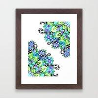 Sharpie Doodle 5 Framed Art Print