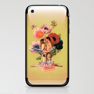 iPhone & iPod Skin featuring It Ends With A Bang! by Eugenia Loli