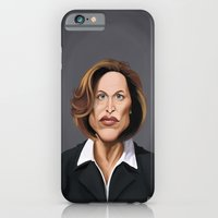 iPhone & iPod Case featuring Celebrity Sunday ~ Gillian Anderson by Rob Snow