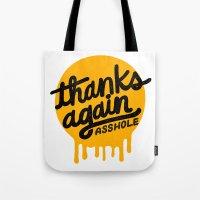 THANKS AGAIN Tote Bag