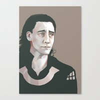 Loki (Tom Hiddleston) Canvas Print