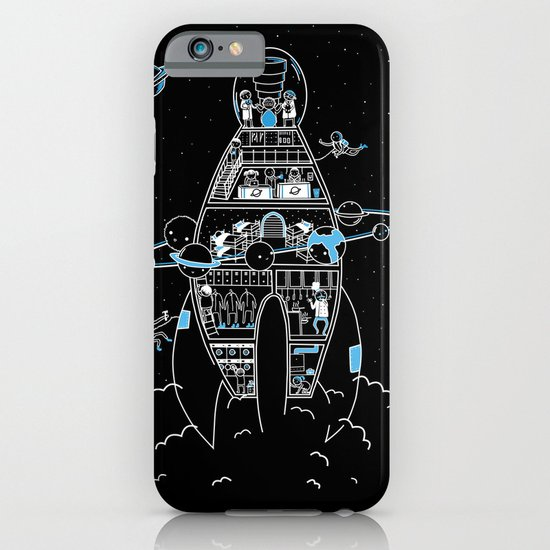 Interstellar Travels iPhone & iPod Case