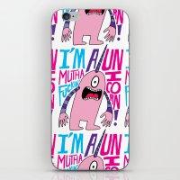 Mutha F'n Unicorn iPhone & iPod Skin