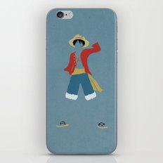 Monkey D Luffy iPhone & iPod Skin