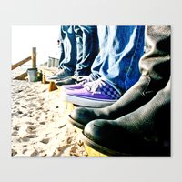 Kickin' It Canvas Print