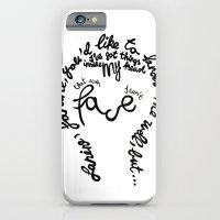 David Bowie - Janine iPhone 6 Slim Case