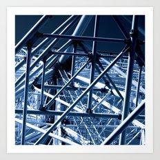 ferris wheel 01 Art Print