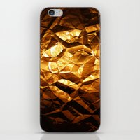 Golden Wrapper iPhone & iPod Skin