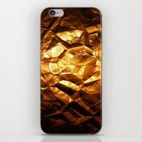 Golden Wrapper iPhone & iPod Skin