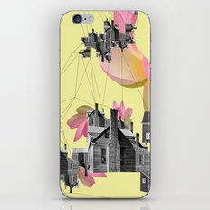 Filled with city iPhone & iPod Skin