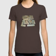 Mosaik 1.1 Womens Fitted Tee Brown SMALL