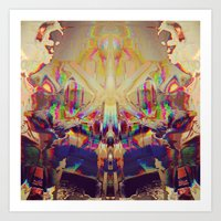 15-45-42 (KK Panty Glitc… Art Print