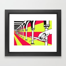Archways Framed Art Print