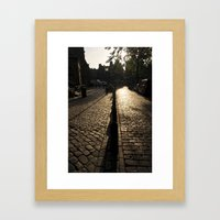 Amsterdam Morning Framed Art Print